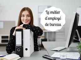 exercer le métier d employé de bureau salaire formation