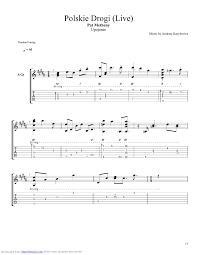 polskie drogi live guitar pro tab by pat metheny musicnoteslib