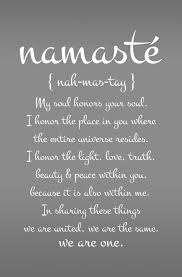 Large Namaste Yoga Quote Decal For Living Room By ZestyGraphics 4800