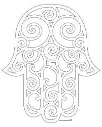Dont Eat The Paste Hamsa Coloring Page And Embroidery Patterns