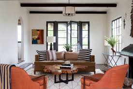This Classic Spanish Colonial Revival Built In 1926 Is Owned By The Furniture Designer Glenn Lawson Living Room Pretty Spectacular