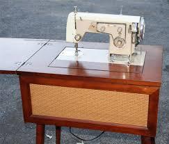 vintage sewing machine cabinet seeshiningstars