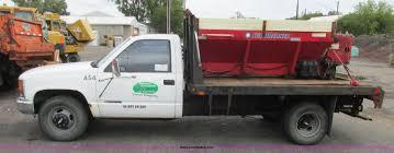 100 Salt Spreader For Truck 1999 Chevrolet 3500 Flatbed Truck With Salt Spreader Item