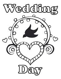 Wedding Coloring Printables