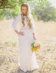 A Vintage Country Wedding Dress