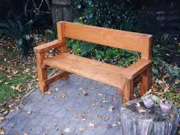 Wood Garden Bench Plans Free by Wooden Bench With Back Wood Bench With Back Plans Wood Bench With