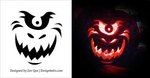 Scooby Doo Pumpkin Carving Stencils Patterns by 10 Free Halloween Scary U0026 Cool Pumpkin Carving Stencils Patterns