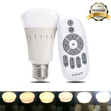 ithird remote led light bulbs dimmable color temperature