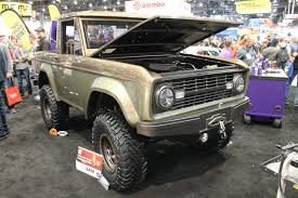 Is This The Coolest Ford Bronco From SEMA? - Ford-Trucks.com Elite Prerunner Winch Front Bumperford Ranger 8392ford Crucial Cars Ford Bronco Advance Auto Parts At Least Donald Trump Got Us More Cfirmation Of A New Details On The 2019 20 James Campbell 1966 Old Truck Guy Bronco Race Truck Burnout 2 Youtube And Are Coming Back Business Insider 21996 Seat Cover Driver Bottom Tan Richmond Official Coming Back Automobile Magazine 1971 For Sale 2003082 Hemmings Motor News Is Bring Jobs To Michigan Nbc