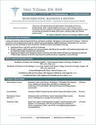 Resume Examples Experienced Nurse Amazing Ideas New Grad With No Experience Entry Level Simple Design Sample