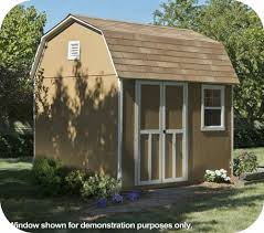 6x8 Wooden Storage Shed by Wood Sheds Wooden Storage Shed Kits