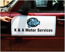 Vehicle Magnetic Signs - Car Signs - Real Estate Vehicle Signage ...