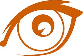 cartoon eyes Clipart