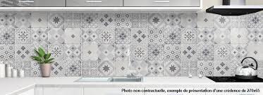 carreaux ciment cuisine credence aluminium pour cuisine carreaux de ciment 1