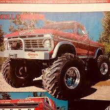 100 Godzilla Monster Truck Old School Clone Build Home Facebook
