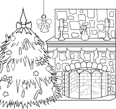 Christmas Tree Coloring Pages Printable by 7 Christmas Colouring Pictures Merry Christmas