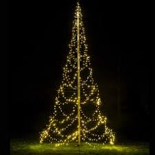 Flagpole Christmas Tree 1970FT 720LED