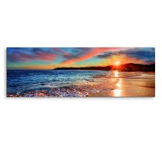 with sea foam framed photographic print on canvas