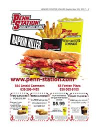 Penn Station Coupon Code Aarp Restaurant Discounts Baltimore Scentbirdcom Coupon Code Pennstation Bogo 6 Sub Exp 1172018 Slickdealsnet Macys Friends And Family 2019 Sd Matrix Discount Localflavorcom Penn Station East Coast Subs 10 For 20 Coupon Professor Team Express June Find Cheap Parking Easily Parkwhiz App Off Promo Code Summoners War October Daily Updating List Casa Salza Spanish Fork Coupons Cophagen Wheel Nordictrack Discounts On Dog Food Two Cousins Pizza Promo Kind Notes Free Shipping Jcpenney Makeup Bucky Book Madison Wi