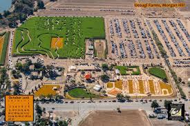 Morgan Hill California Pumpkin Patch by 111th Aerials October 2016 Calendar Uesugi Farms The 111th