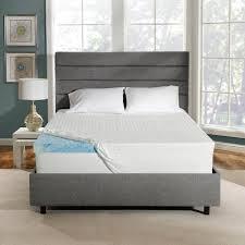 serta soothingcool 3 inch gel memory foam mattress topper