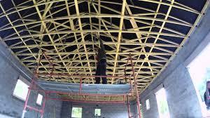 pose rail placo plafond plafond placo ba13 deuxième é la pose des suspentes