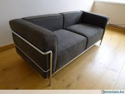 le corbusier canape canapé le corbusier jeanneret cassina lc3 a vendre