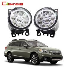 cawanerl for subaru legacy outback car accessories led bulb fog