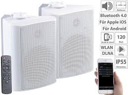 auvisio aussenlautsprecher aktiv multiroom stereo außen