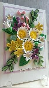 Decoration Flowers Paper Cards Origami Patterns Ideas Designs Tutorial Flower Making Quilling Design