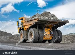 100 Large Dump Trucks Rock Transportation By Stock Image