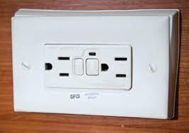 prise pour salle de bain dans la salle de bain une prise électrique de type gfi possède