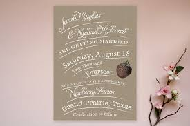 Check Out This Endearing Rustic Wedding Invitation