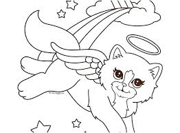 Lisa Frank Coloring Page Hair Salon Pages Design Angel New
