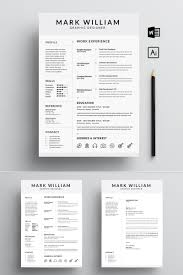Mark William Cv/ Resume Template 200 Free Professional Resume Examples And Samples For 2019 Home Hired Design Studio 20 Editable Cvresume Templates Ps Ai Simple Cv Word Format Resumekraft Mplevformatsouthafarriculum 3 Pages Modern Templatecv By On Landscape Template Creativetacos 016 Creative Ideas Cv Imposing Minimalist Cv Resume Mplate With Nice Typography Design The Best Builder Online Fast Easy Try Our Maker 4 48 Format Jribescom