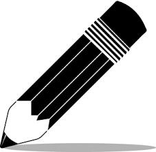 Pencil In Black And White Smu