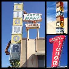 Santa Monica Halloween Parade Street Closures by Offbeat L A 100 Los Angeles Area Liquor Store Signs A