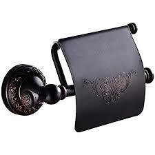 weare home toilettenpapierhalter antik retro badezimmer zubehör set messing rollenhalter aus schwarzem bronze geölt wandmontage