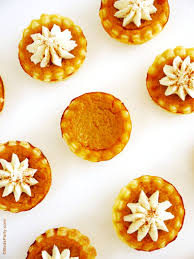 Mcdonalds Pumpkin Pie Recipe by Party Food Bite Size Pumpkin Pies With Mascarpone Cream