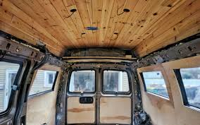 Diy Van Conversion Ceiling