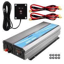 100 Power Inverters For Trucks Giandel Inverter 3000Watt 12V DC To 110V 120V AC With 20A
