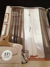 Pottery Barn Curtains Emery by Our Hobby House Small Curtain Up Date