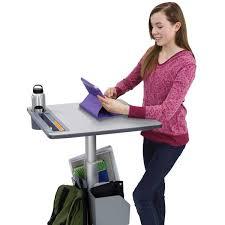 Ergotron Sit Stand Desk Manual by Standing Desks And Adjustable Stand Up Desks Ergotron