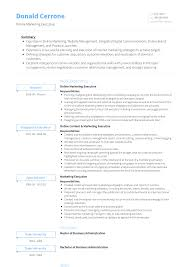 Online Marketing Executive - Resume Samples & Templates   VisualCV Resume Writing Help Free Online Builder Type Templates Cv And Letter Format Xml Editor Archives Narko24com Unique 6 Tools To Revamp Your Officeninjas 31 Bootstrap For Effective Job Hunting 2019 Printable Elegant Template Simple Tumblr For Maker Make Own Venngage Jemini Premium Online Resume Mplate Republic 27 Best Html5 Personal Portfolios Colorlib