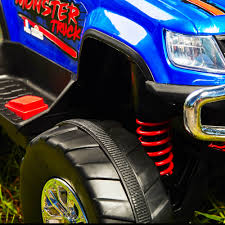 100 Monster Truck For Kids 12V RideOn Toy Boys BatteryPowered Remote