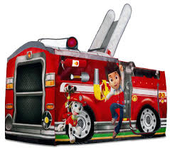 Bedding: Bunk Beds ~ Fire Truck Bunk Bed Tent Paw Patrol Bunk Beds Boysapos Fire Department Twin Metal Loft Bed With Slide Red For Bedroom Engine Toddler Step 2 Fireman Truck Bunk Beds Tent Best Of In A Bag Walmart Tanner 460026 Rescue Car By Coaster Full Size For Kids Double Deck Sale Paw Patrol Vehicle Play Curtain Pop Up Playhouse Bedbottom Portion Can Be Used As A Bunk Curtains High Sleeper Cabin And Bunks Kent Large Image Monster