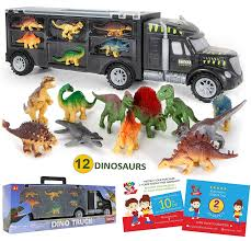 100 Dinosaur Truck MOBIUS Toys 12 Toy S Playset With A