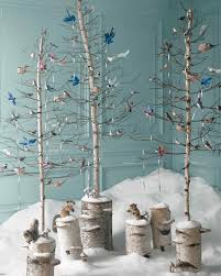 Christmas Tree Tinsel Icicles by Enchanted Forest Christmas Tree Ideas By