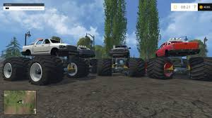 100 Monster Truck Simulator Truck For FS 15 Farming Simulator 2019 2017 2015 Mod