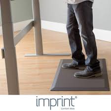 Standing Desk Floor Mat by Imprint Comfort Deluxe Mat Voted 1 Standing Desk Mat